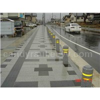 paving and stopping stones