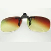 Professional drivers' lens with the function of sunglasses