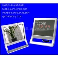 Mirror Clock (jl-493-2021)
