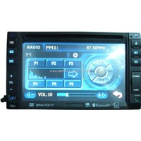 Double DIN In-dash Car DVD Player