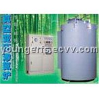 Vacuum vaying pressure nitriding furnace