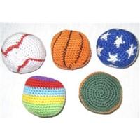 knitted kick ball