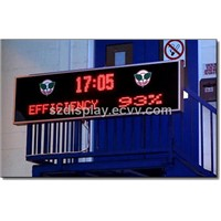led outdoor dual color display