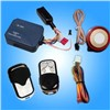 One way motorcycle alarm with remote starter and cut off engine