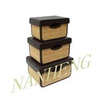 Bamboo Rectangle Storage Box