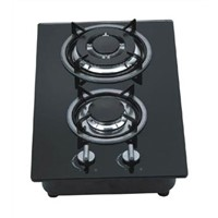 Gas Hob With Two Burners