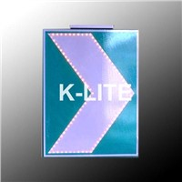 K-Lite solar traffic sign,solar direction sign,solar chevron sign,solar flash sign