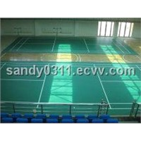 PVC Badminton Floor for Indoor Court