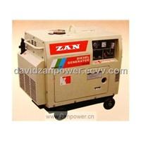 Portabe Diesel Generator,silent,2.8KVA-4.2KVA