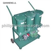 Portable oil filterimg machine