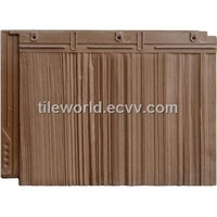 Synthetic Cedar Shake Tile