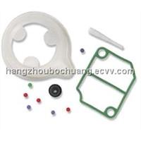 Silicone rubber seal parts