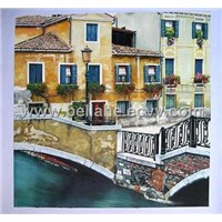 Street Scene Painting (LD-020)