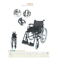 Wheelchair, Folding Wheelchair, Steel Wheelchair