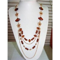 Necklace with acrylic fron Yiwu Carl Shining Jewelry