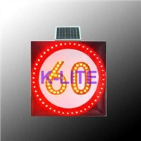 solar traffic speed sign,solar flash sign,solar warning light