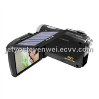 12MP Digital Camcorder with Solar Panel
