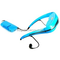 80 inch video glasses with MP5 + 4GB memory + 1700 mAh Li-ion battery