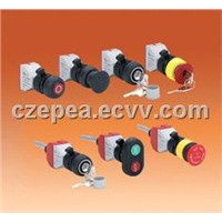 CZ0201 Board back type,Board back type Explosion-proof button components