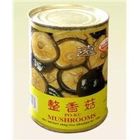 Canned Shitake