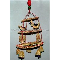 Chinese Folk Crafts-Straw Handicraft (JB-Bells)