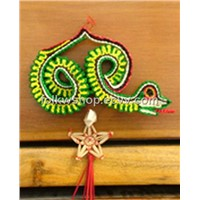 Chinese Folk Crafts-Straw Handicraft - Snake