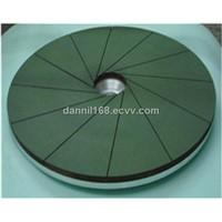 Diamond polishing wheel