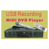 Karaoke Recordable Player + MIDI DVD karaoke