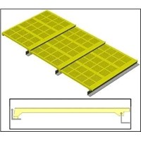 MODULAR POLYURETHANE SCREEN PANELS