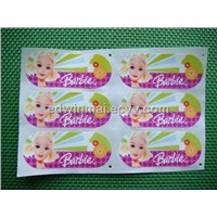 Rotary Printing Color Sticker