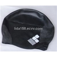 Wrinkle-free swim cap