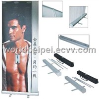 banner stand, roll up banner stand, banner display, sign, two side roll banner stand , trade show di