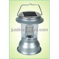 Lantern with Solar Panel