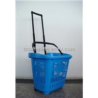 Plastic Shopping Basket (SM-0550)