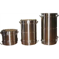 Stainless Steel Spray Powder Barrel (DH-FT-120)
