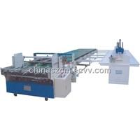 unilateral carton pasting machine