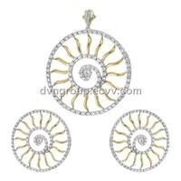 Silver Pendant (DTPS000427)