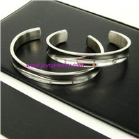 316L stainless steel polished bracelet&bangles