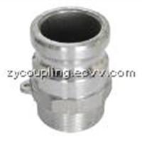 Aluminium camlock part F