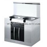 Environmental-friendly and energy saving kitchen stove