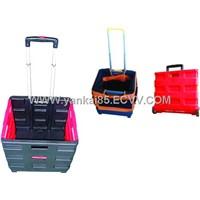 Foldable Shopping Go-cart