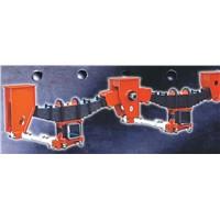 Fuwa Style Trailer Mechanical Suspension-2 axle