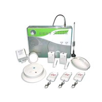 GSM learning code 16 defense zone LED display home alarm system
