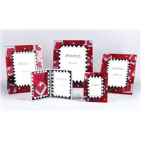 Glass Handmade Coloured-painting Photo Frame