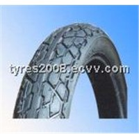 Motorcycle tyres and tube
