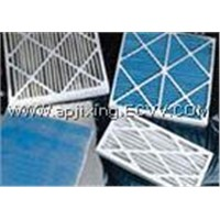 PAPER FRAME PLEATED AIR FILTERS