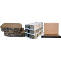Plastic pallets for block making