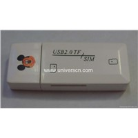 SIM /TF 2IN1 card reader/writer