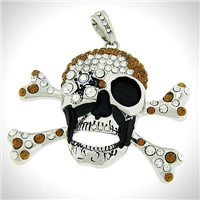 Skull Cross-Pendants-SU-043NT-