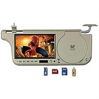 Car Sun visor DVD player with 7-inch LCD monitor